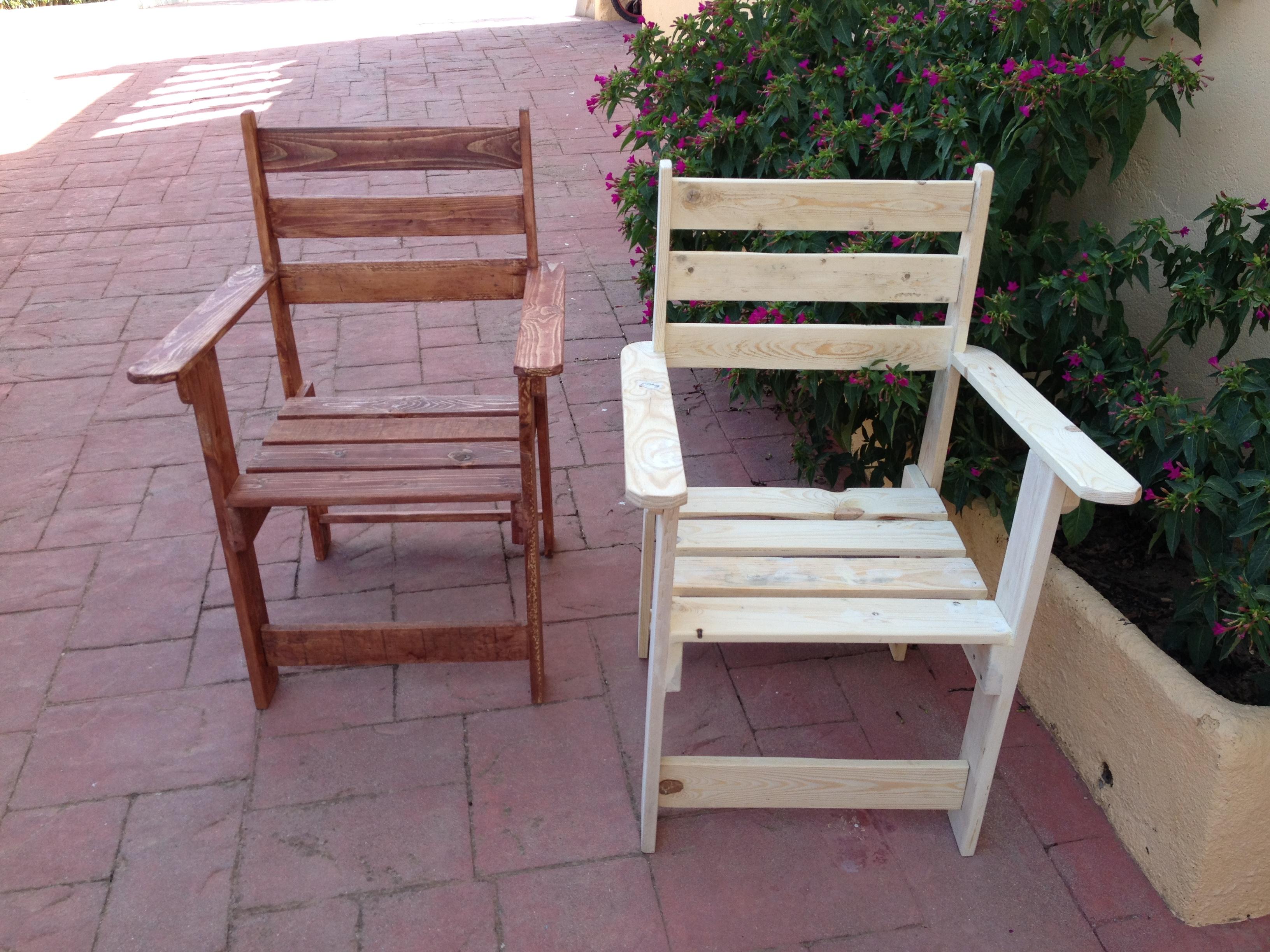 Sillas con palets cansado de las tpicas sillas o sillones de oficina hazte tu propia silla en - Sillas hechas con palets ...